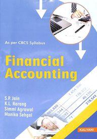 Financial Accounting 1st Sem Bba : Bu