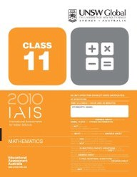 Iais 2010 Question Paper Booklet : Mathematics 2010 - Class 11 [2010 Iais]