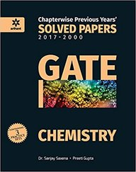 Gate Chemistry Chapterwise Previous Years 20117-2000 Solved Papers : Code : G479