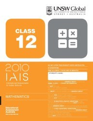 Iais 2010 Question Paper Booklet : Mathematics 2010 - Class 12 [2010 Iais]