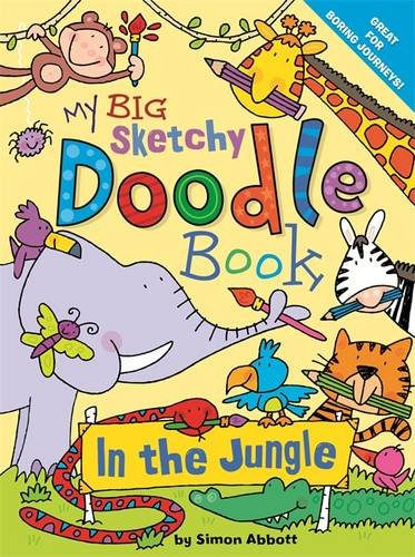Buy My Big Sketchy Doodle Book In The Jungle Book Ticktock