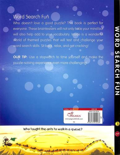 Word  Search  Fun Book 3