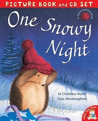 One Snowy Night - Picture Bokk And Cd Set