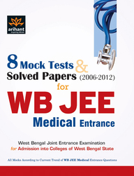 8 Mock Tests & Solved Papers for WB JEE Medical Entrance