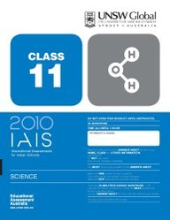 Iais 2010 Question Paper Booklet : Science 2010 - Class 11 [2010 Iais]
