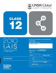 Iais 2010 Question Paper Booklet : Science 2010 - Class 12 [2010 Iais]