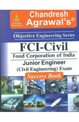 Fci-Civil Junior Engineer Civil Engineering Exam Success Book