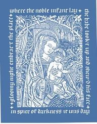 Madonna and Child Christmas Cards# 5287, Pack of 12[ With Envelope]