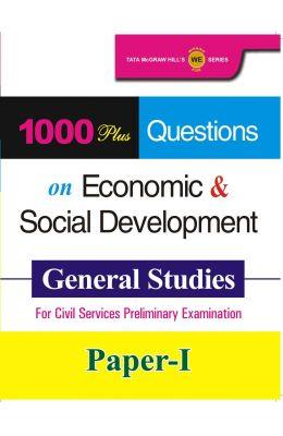 Economic & Social Development 1000 Plus Questions  On General Studies For Civil Services Prelimin