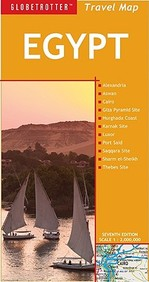 Egypt Travel Map, 7th (Globetrotter Travel Map)