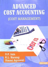 Advanced Cost Accounting Cost Management