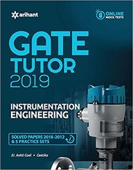 Instrumentation Engineering Gate Tutor 2019 Solved Papers 2018-2012 & 5 Practice Sets W/Cd : G480