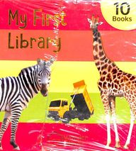My First Mini Library : Set Of 10 Board Books