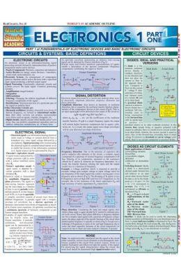 Electronics 1 Part One Laminate Reference Chart