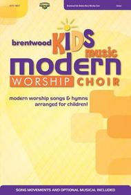 Brentwood Kids Music Modern Worship Choir Book