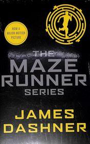 Maze Runner Series Set Of 5 Books
