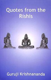 Buy Quotes From The Rishis book : Guruji Krishnananda
