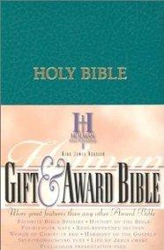Kjv Gift And Award Bible: King James Version, Teal Imitation Leather