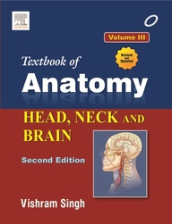 Textbook Of Anatomy Of Head Neck & Brain Vol 3