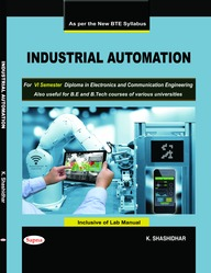 Industrial Automation For 6 Sem Diploma In Electronics & Communication Engineering