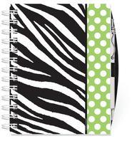 Lime Zebra Address Book