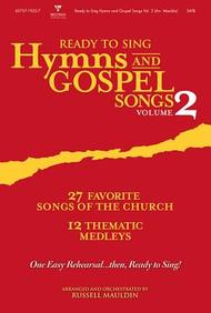 Ready To Sing Hymns And Gospel Songs V2 Orchestration/Conductor's Score Cd-Rom