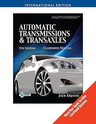 Automatic Transmissions And Transaxles, 2 Volumes Sets, 5th Edition [international Edition]