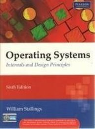 Buy Operating Systems Internals And Design Principles Book William Stallings 8131725286 9788131725283 Sapnaonline Com India