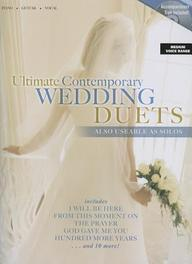 Ultimate Contemporary Wedding Duets[ With CD (Audio) ]