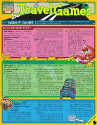 Travel Games Laminated Reference Guide (Quickstudy: Home)
