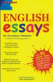 Buy English Essays For Secondary Students Book  Betty Kirkpatrick  English Essays For Secondary Students