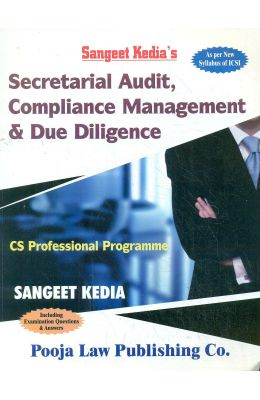 Secretarial Audit Compliance Management & Due Diligence : As Per New Syllabus Of Icsi