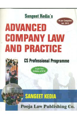 Advanced Company Law & Practice Cs Professional Programme For June 2018 Exam