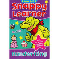 Snappy Learner  Handwriting  Ages  5 - 7
