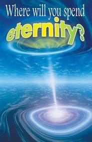 Where Will You Spend Eternity (KJV) : 25- Pack Tracts