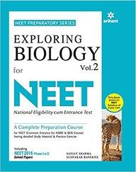 Exploring Biology Vol 2 For  Neet  : Code B100