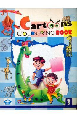 Cartoons Colouring Book 3