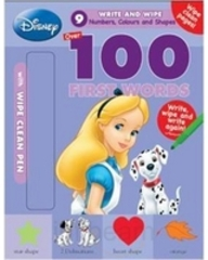 Disney 100 First Words- Numbers, Colours And Shapes