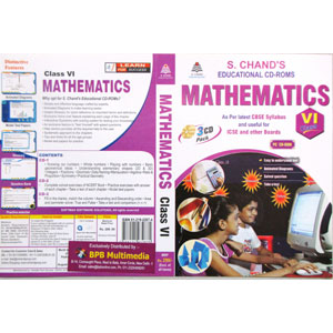 S Chand Educational CD-Rom: Mathematics For Class-6 (With 3 CDs)