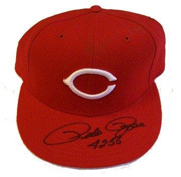 Pete Rose Autographed Hat - 4256