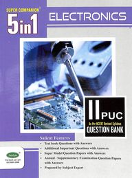 Electronics 2 Puc Super Companion 5 In 1 Question Bank