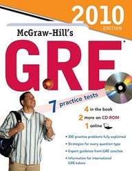 McGraw-Hill's GRE [With CDROM]