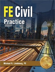 Buy FE Civil Practice book : Michael R  Lindeburg PE, 1591265304