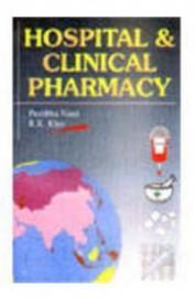 And book hospital clinical pharmacy