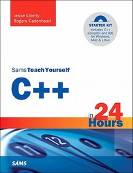 Sams Teach Yourself C++ In 24 Hours [With CDROM]