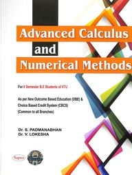 Advanced Calculus & Numerical Methods For 2 Sem Be : Vtu