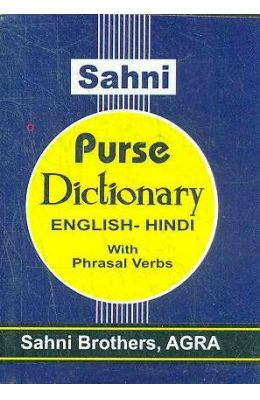 Purse Dictonary English-Hindi With Pharsal Verbs