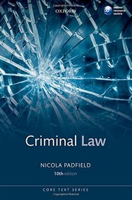 Criminal Law, 10th Ed. (Core Texts)