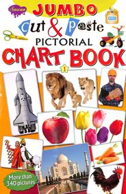 Jumbo Cut & Paste Pictorial Chart Book 1 : Swan