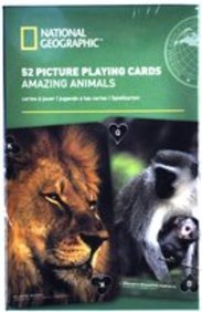 National Geographic 52 Picture Playing Cards-Amazing Animals